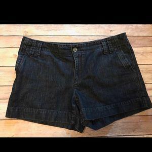 Ann Taylor Loft denim shorts.